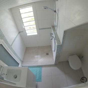 Salle de bain Villa Bwa d'Ô Diamant Vert Martinique
