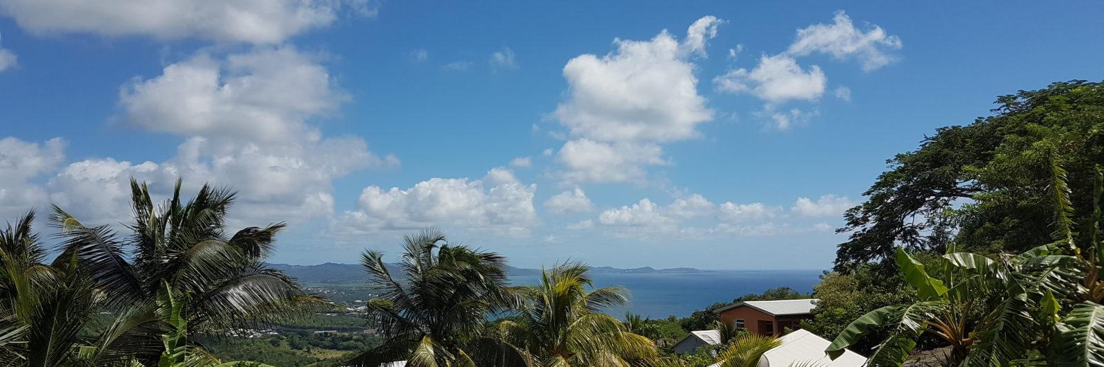 Vue mer Villa Diamant Vert Martinique