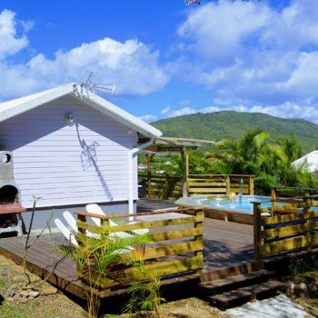 Terrasse Villa Bwa Floté Diamant Vert Martinique