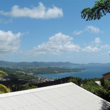 Vue mer Villa Bwa d'Ô Diamant Vert Martinique