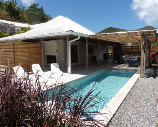 Terrasse Villa Bwa d'Ô Diamant Vert Martinique