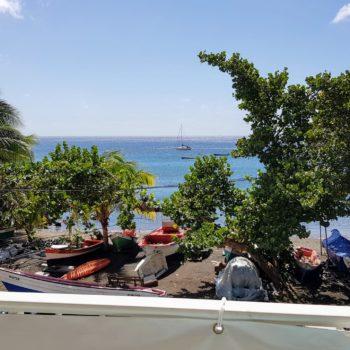 Vue mer Bwa Soley Diamant Vert Martinique