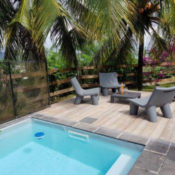 location maison vacances piscine Martinique