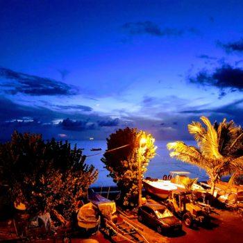 coucher de soleil Bwa Soley Diamant Vert Martinique