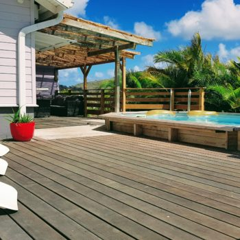 Bains de soleil Villa Bwa Floté Diamant Vert Martinique