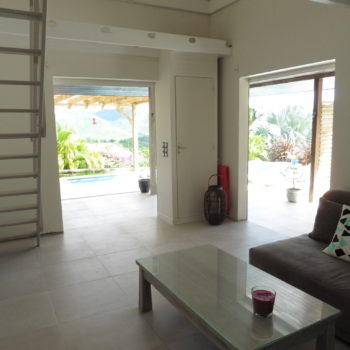 Salon Villa Bwa d'Ô Diamant Vert Martinique